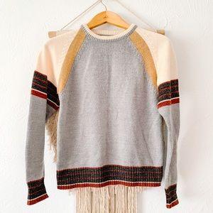 Vintage Alfie Striped Crewneck Sweater